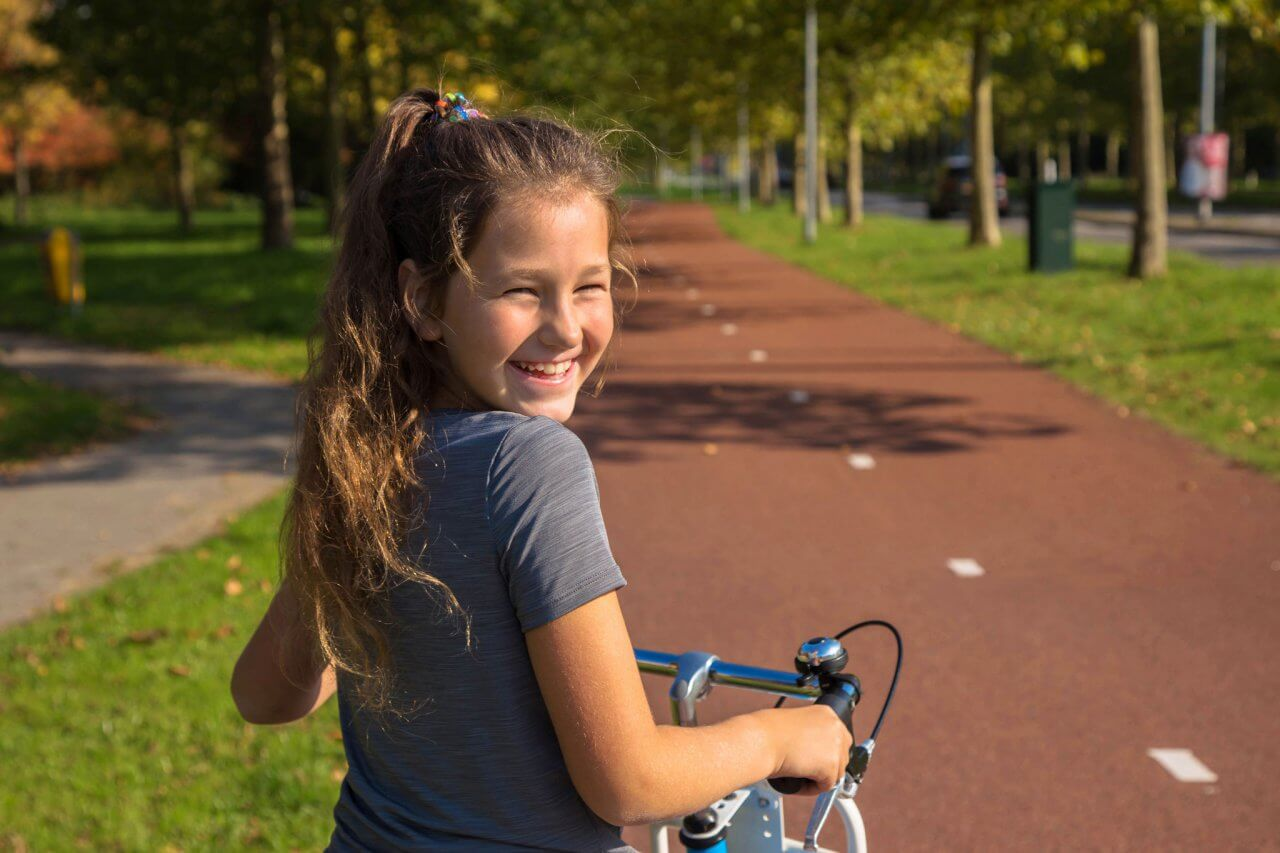 ppo leiden meisje op fiets